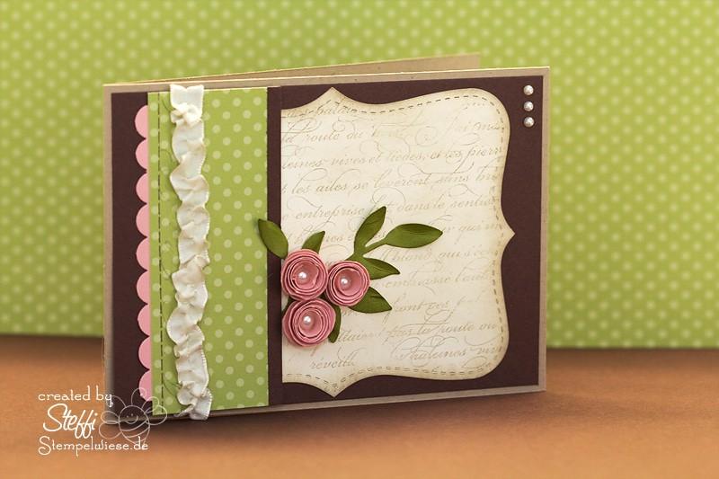 Grußkarten mit Rosen 1
