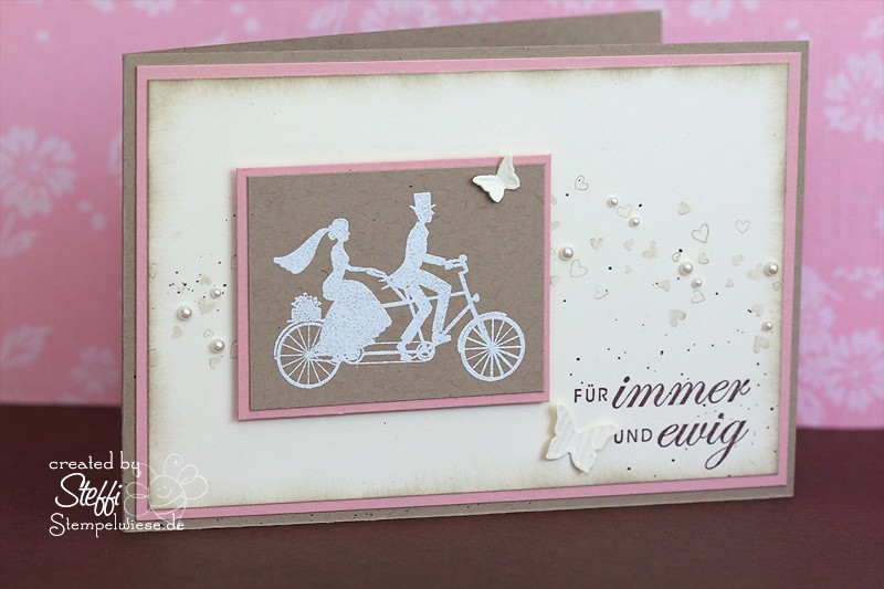 Hochzeitskarte - Wedding Wheels 1