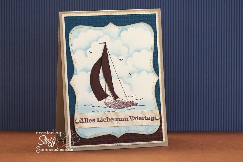 Online Workshop - Glückwunschkarte mit Sail Away - Video 1