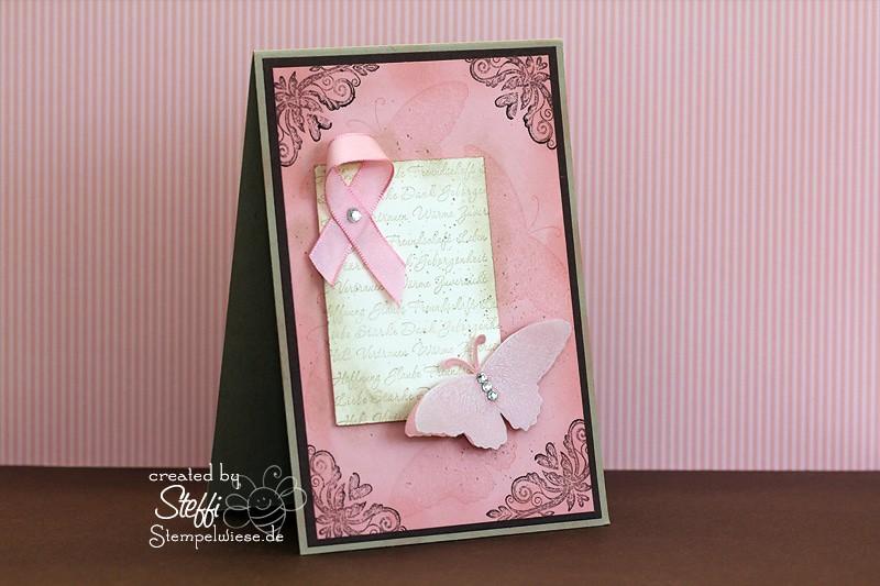 Zuversicht - Strength & Hope mit rosa Schleife 1