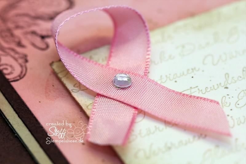 Zuversicht - Strength & Hope mit rosa Schleife 2