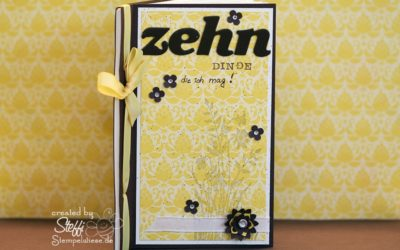 Online Workshop – Mini Album – Video