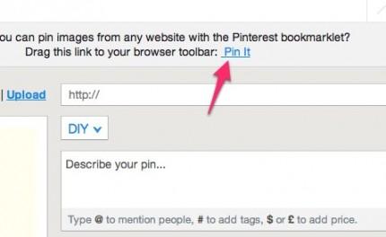 Pinterest - Zum Bilder abspeichern und teilen 3
