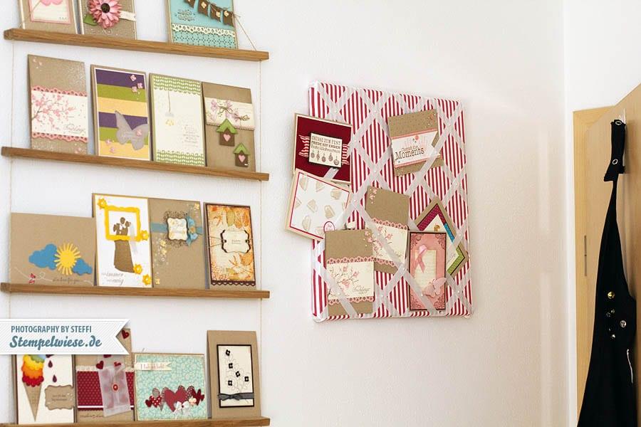 message board f r kartenpr sentation oder fotos stempelwiese. Black Bedroom Furniture Sets. Home Design Ideas