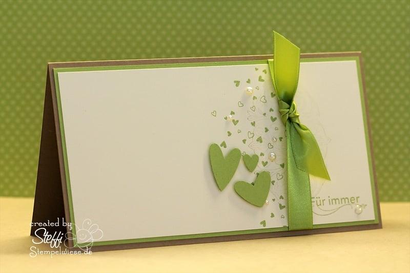 Hochzeitskarte passend zum Hochzeitsalbum 1