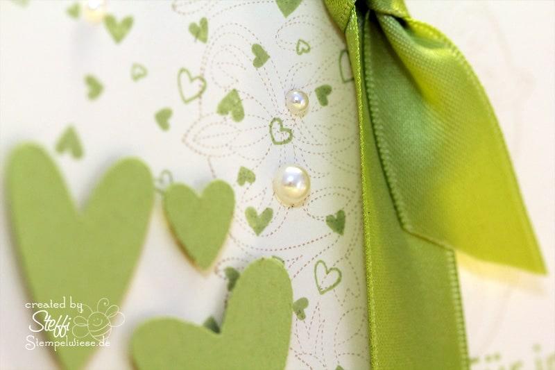Hochzeitskarte passend zum Hochzeitsalbum 2