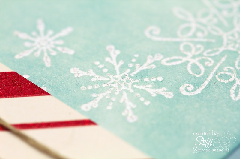Weihnachtskarte - Schneeflocke 3