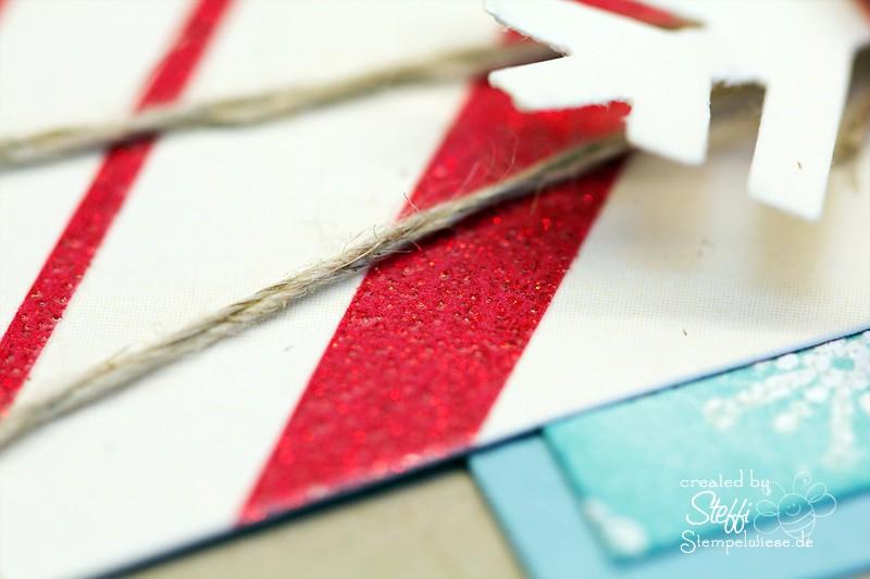 Weihnachtskarte - Schneeflocke 2
