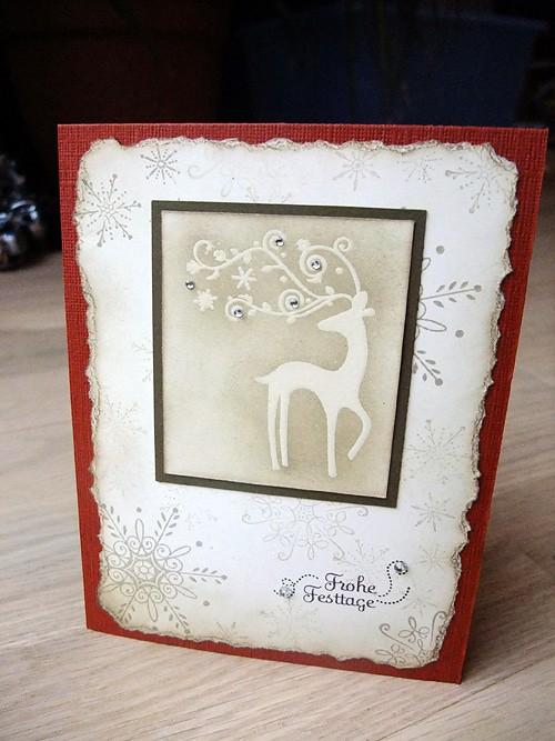 Weihnachtskarte von Dani 1