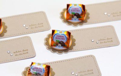 Kleine Goodies mit Ferrero Küsschen