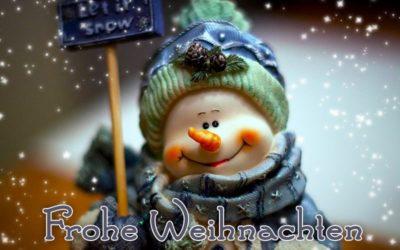 Adventskalender – 24. Tür – Frohe Weihnachten