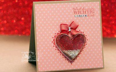 Valentinskarte – Weil du mir wichtig bist