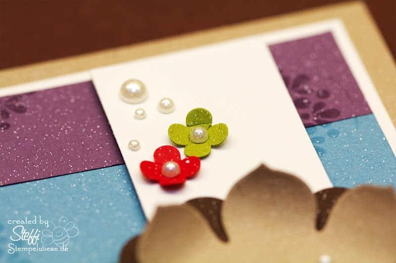 Geburtstagskarte in Regenbogenfarben 3