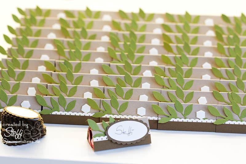 Tischkärtchen oder Namensschildchen neutral 4