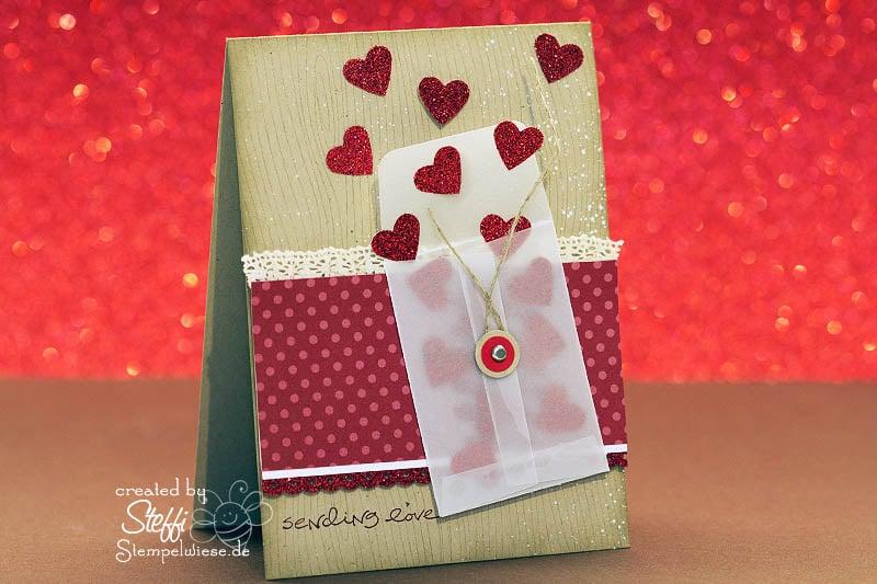 Valentinskarte - Sealed with a Kiss 1