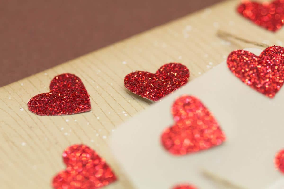 Valentinskarte - Sealed with a Kiss 2