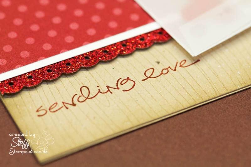 Valentinskarte - Sealed with a Kiss 3