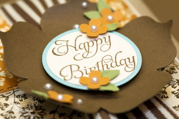 Geburtstagskarte mit Herbstnostalgie 2