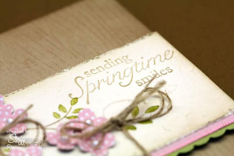 sending Springtime smiles oder Valentinsgrüße 2