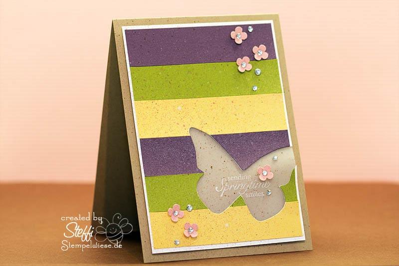 Grußkarte - Sending Springtime Smile 1