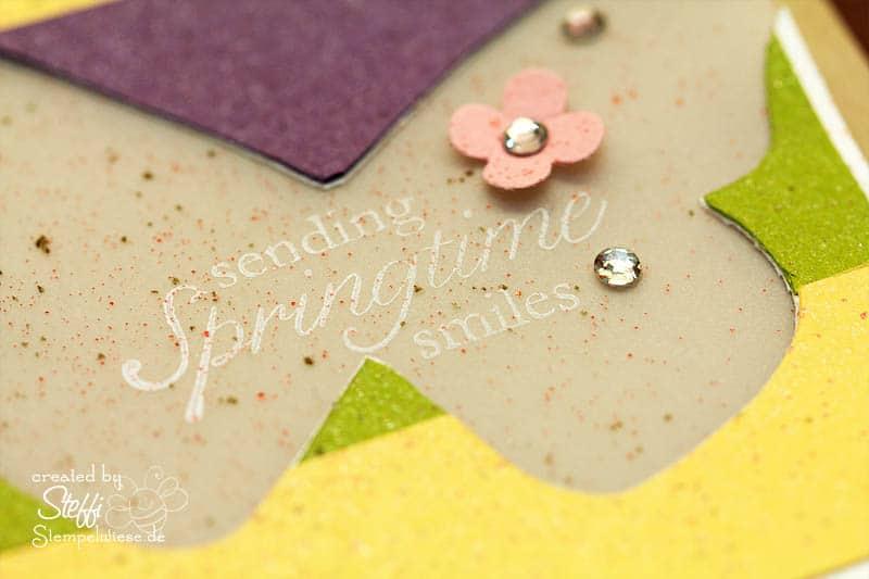 Grußkarte - Sending Springtime Smile 3