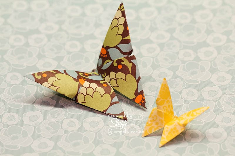 Origami Schmetterling 1