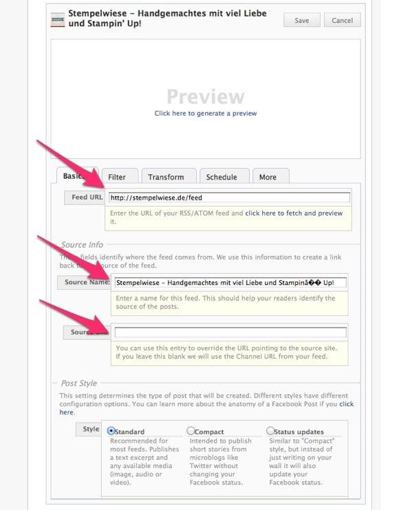 Blog Tipps - 2. Blogbeiträge automatisch zu Facebook 5