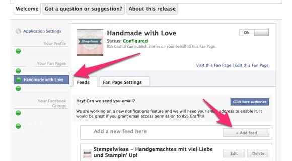 Blog Tipps - 2. Blogbeiträge automatisch zu Facebook 4