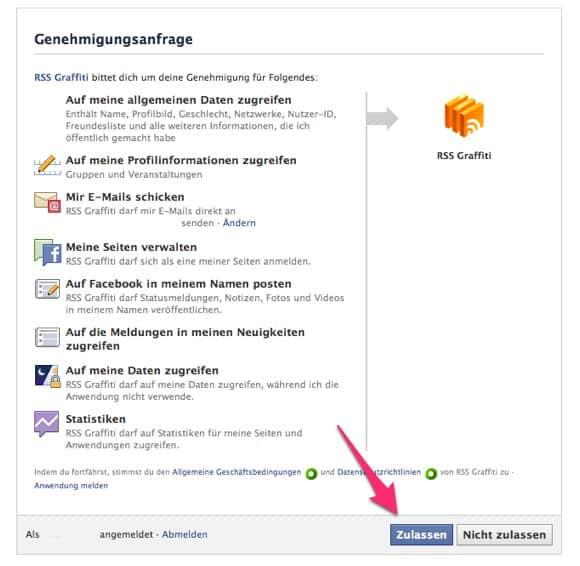Blog Tipps - 2. Blogbeiträge automatisch zu Facebook 3