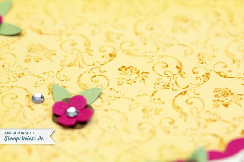 Geburtstagskarte mit kleine Wünsche 2