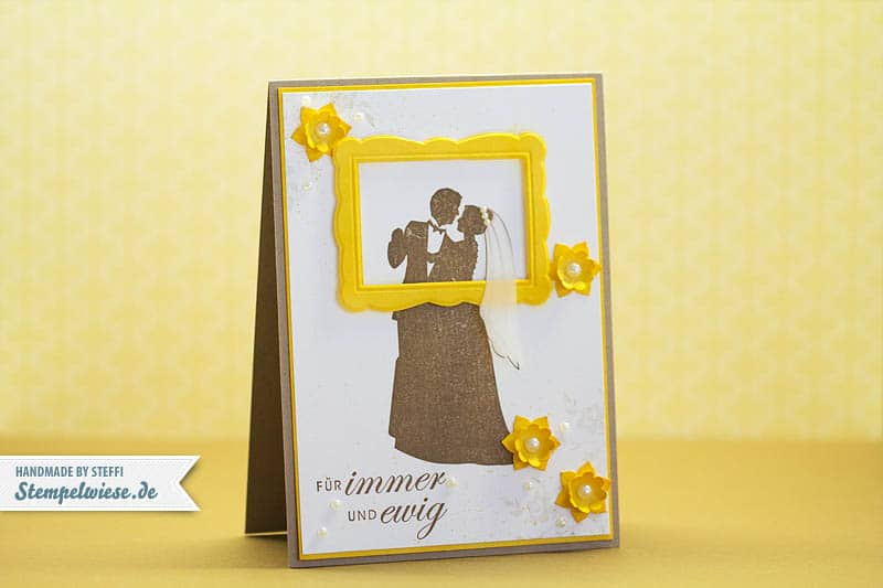 Hochzeitskarte - Für immer dein 1