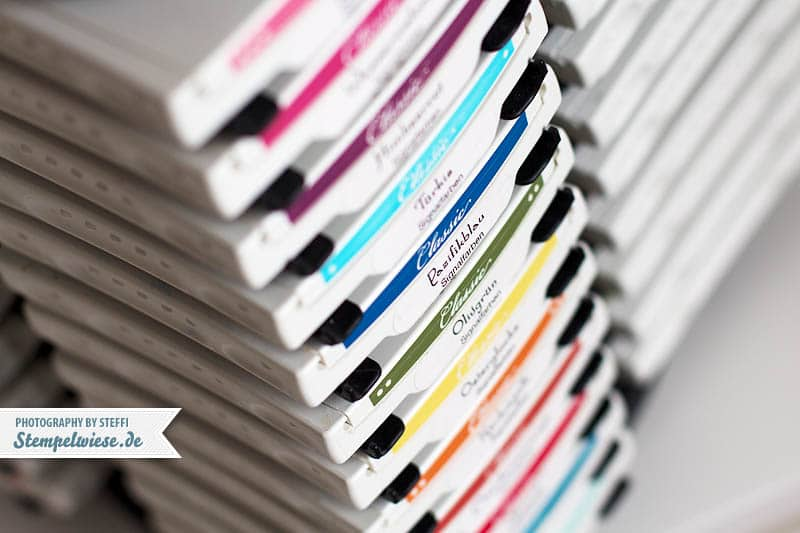 Vorlage - Farbetiketten für Stampin' Up! Stempelkissen 1