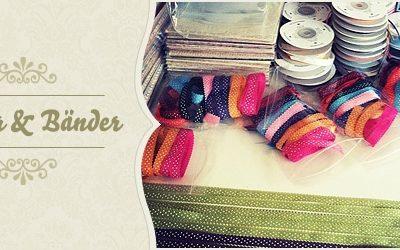 Bänder- & Papiermusterpakete Sommerminikatalog 2012