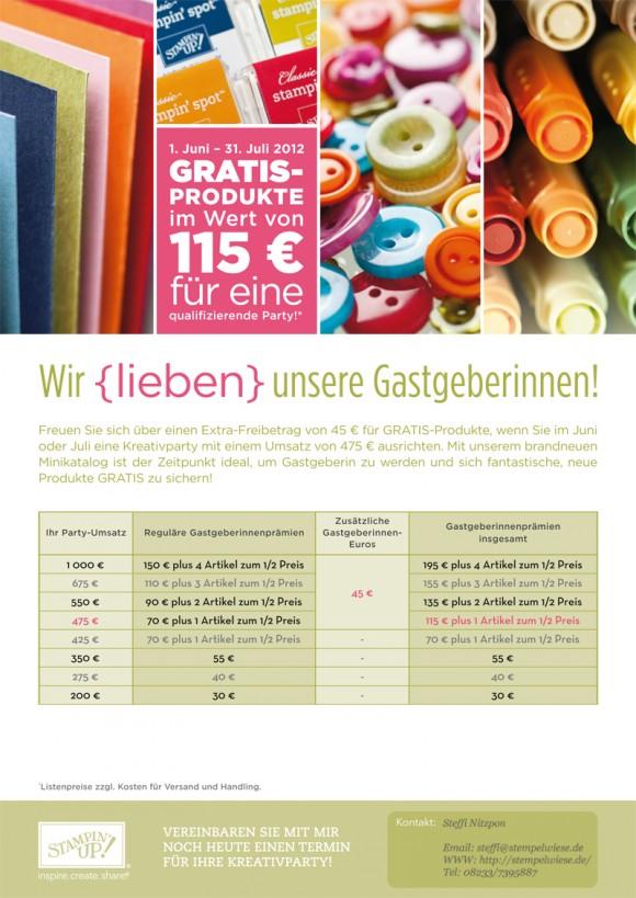 45€ Extra für Großbesteller und Gastgeberinnen 2
