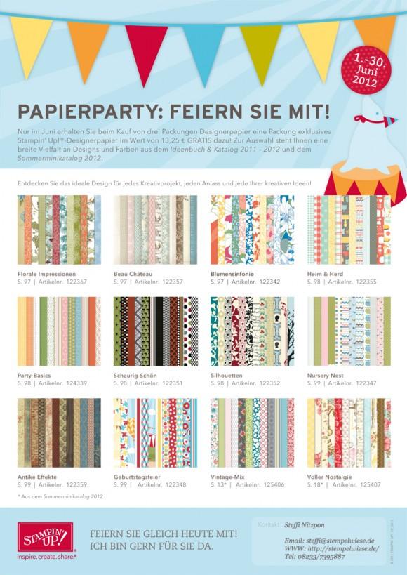 Papierparty! - Neuer Monat - neues Angebot! 2