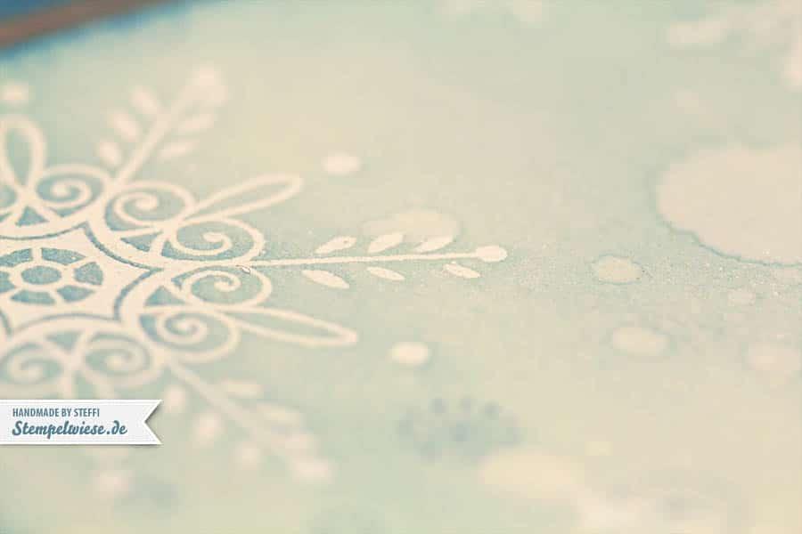 Weihnachtskarte - Serene Snowflakes 2