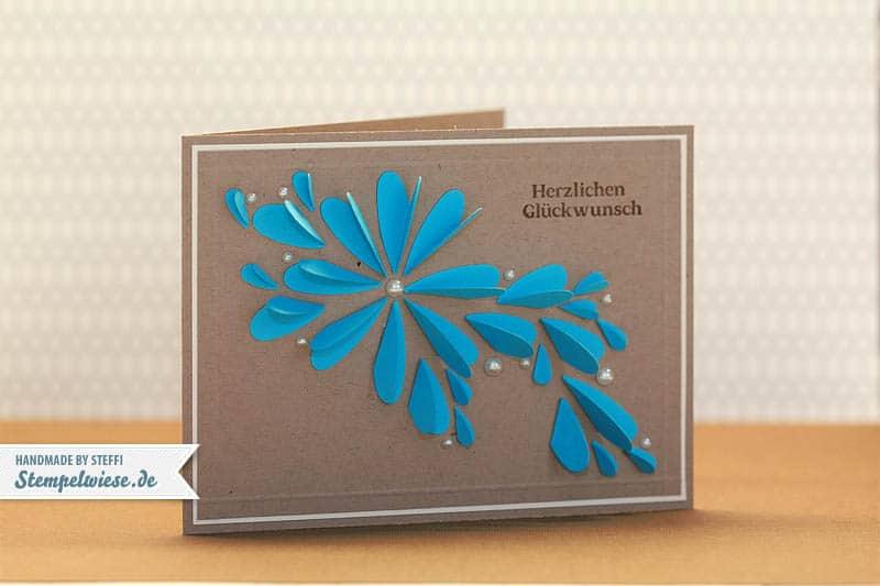 Geburtstagskarte aus vielen Herzen 1