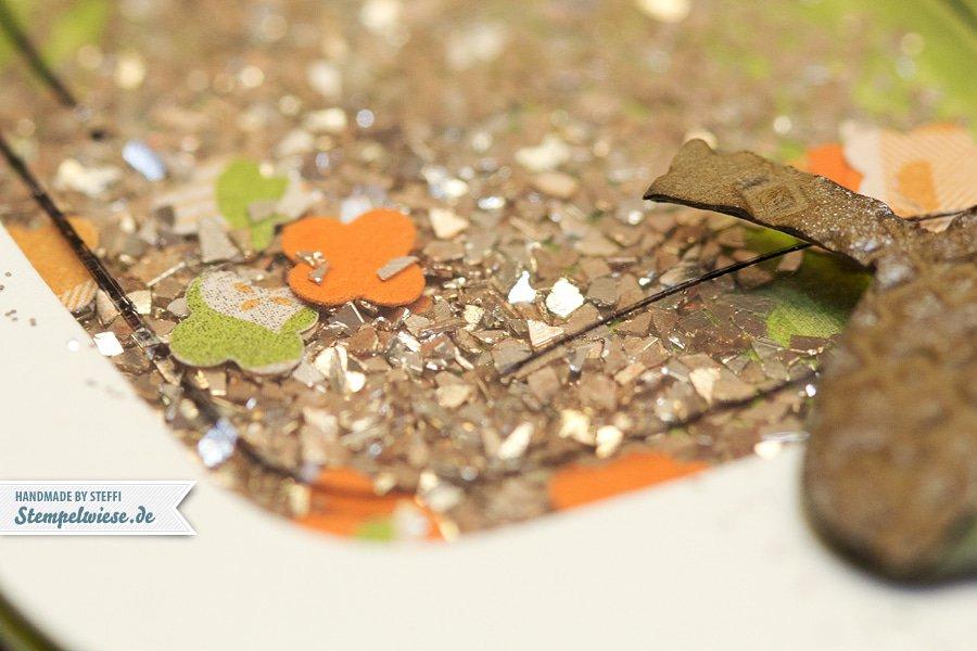 Herbstzauber - Grußkarte mit Liebe gemacht 3