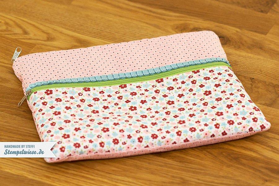 Eine genähte Tasche für mein iPad 1