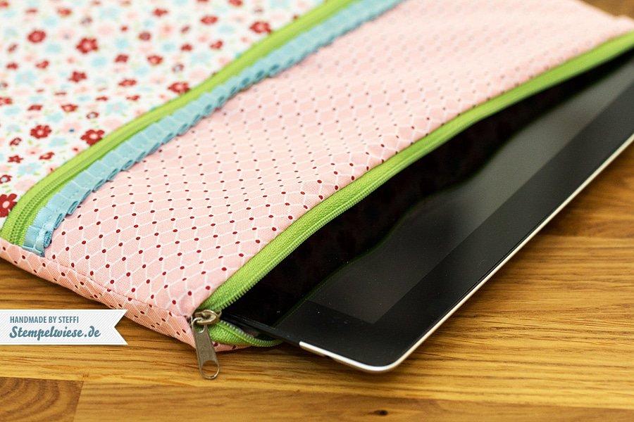 Eine genähte Tasche für mein iPad 2