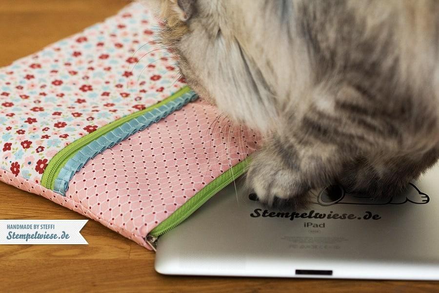 Eine genähte Tasche für mein iPad 5