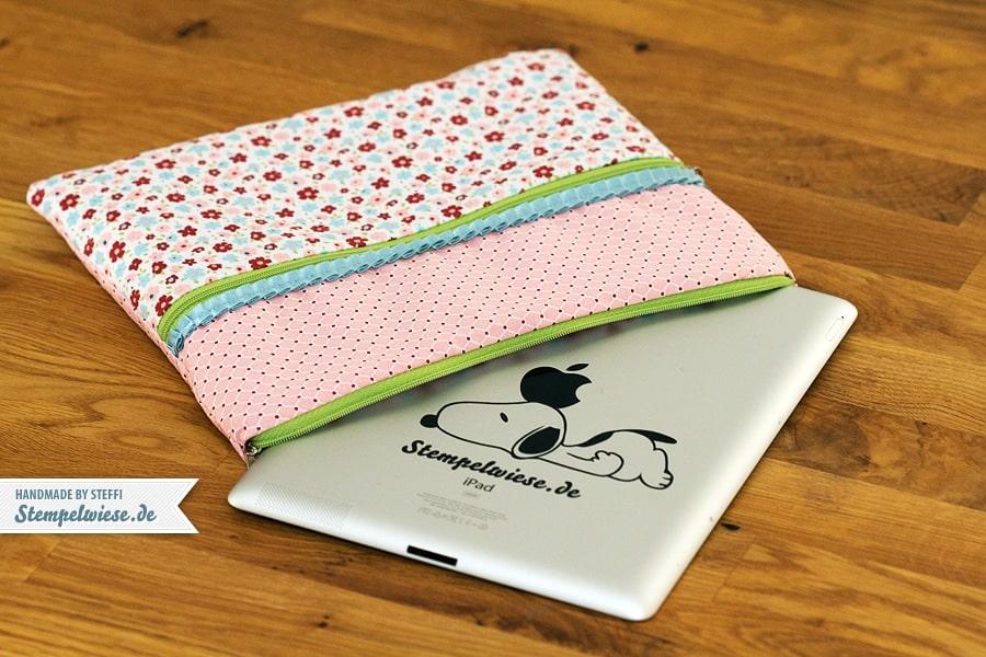 Eine genähte Tasche für mein iPad 4