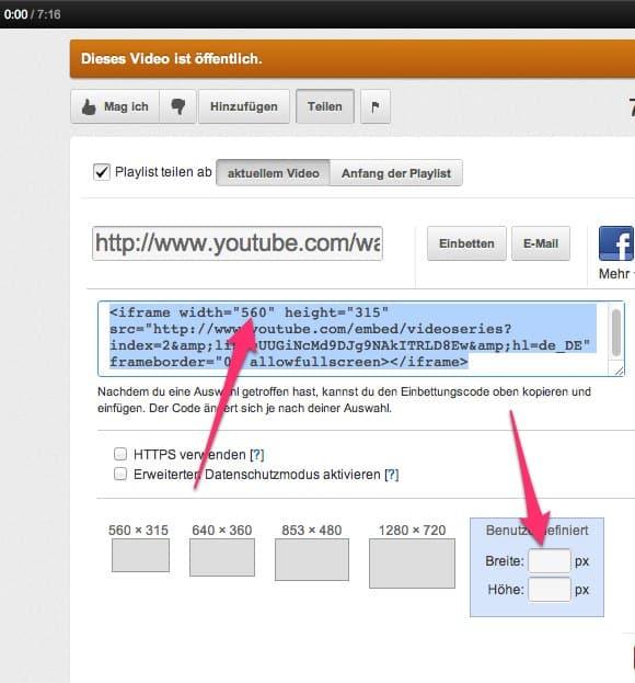 Blog Tipps - Wie füge ich Videos im Blog ein? 4
