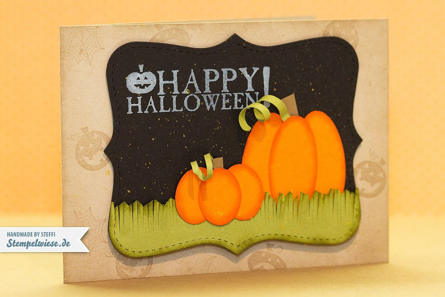 Happy Halloween mit Punch Art Pumpkin - Stampin' Up!