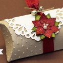 Pillow Box mit Weihnachtsstern - Stampin' Up! ♥ Stempelwiese
