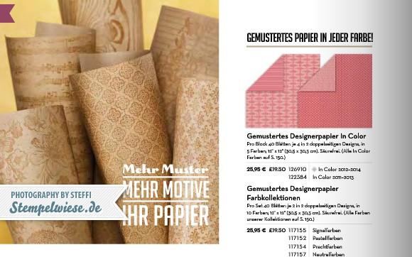 Designerpapier Share - Musterpakete 2