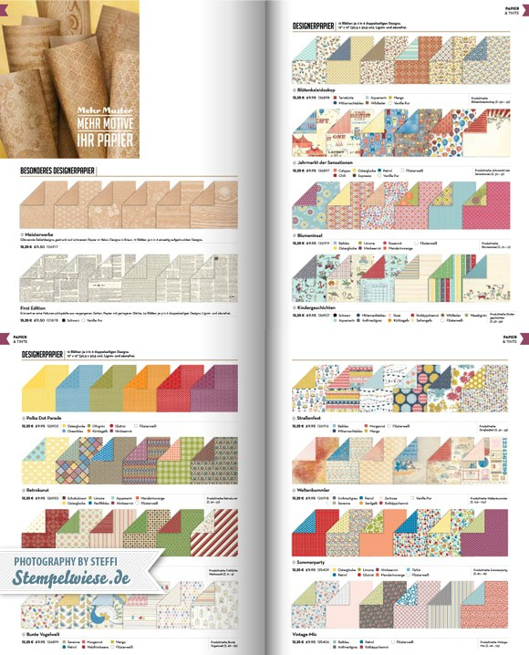 Designerpapier Share - Musterpakete 1