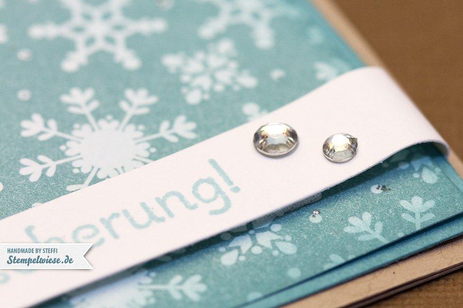 Weihnachtskarte mit Ornament Keepsakes 2