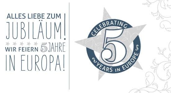 5 Jahre Stampin' Up! Europe und eine App 1
