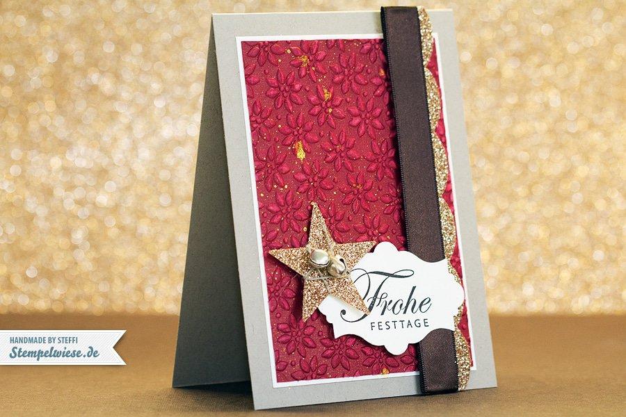 Weihnachtskarte - Grüße zum Fest 1